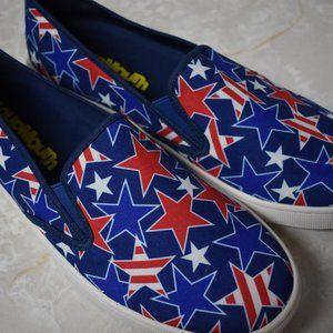Loudmouth Stars Stripes Men's Sonny Slip On Shoes